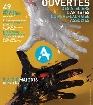 Portes Ouvertes des Ateliers d'Artistes du Père-Lachaise 5-8 mai 2016